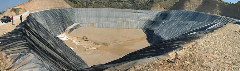 环境、脱水和垃圾填埋场