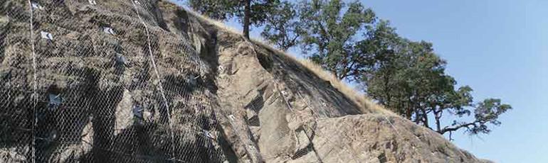 落石防护及雪崩防护