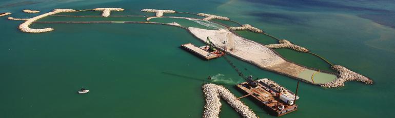 海岸防护、海上结构与海底管线防护